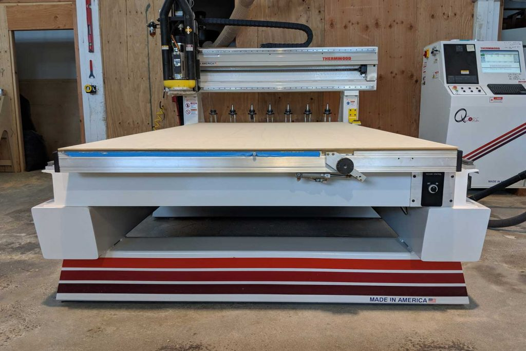 Stumptown CNC Robot Thermwood 3-axis CNC router for high-speed CNC routing and milling